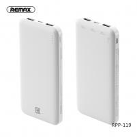 Портативный аккумулятор Remax RPP-119 white