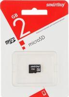 Карта памяти Micro SD Smartbuy 2Gb без адаптера