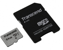 Карта памяти Micro SD Transcend 64Gb