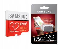 Карта памяти Micro SD Samsung Evo plus 32Gb