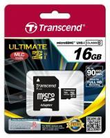 Карта памяти Micro SD Transcend 16Gb