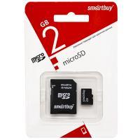 Карта памяти Micro SD Smartbuy 2Gb