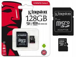 Карта памяти Micro SD Kingston 128Gb