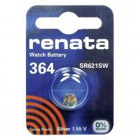 Батарейка Renata AG1 (364, LR621, SR621W, LR60, 164)