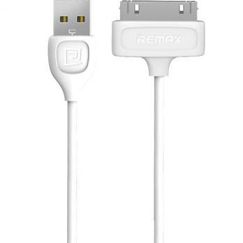 Кабель Remax USB - Apple 30-pin RC-050i4 white