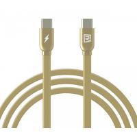 Кабель Remax USB - USB Type-C RC-046a gold