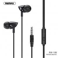 Проводные наушники Remax RW-106 white