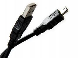 Кабель Telecom USB Mini - USB data 1.8м