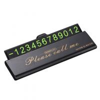 Табличка для номеров Remax RL-CH06 black