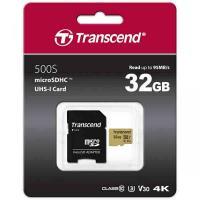 Карта памяти Micro SD Transcend 32Gb