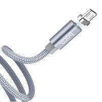 Кабель Hoco USB - micro USB U40Am silver