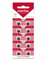 Батарейка Smartbuy AG3 (392, SR41W, LR41, 192)